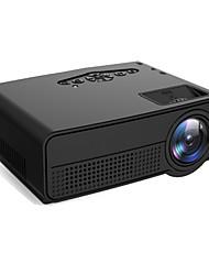 Недорогие -Фабрика oem h60 dlp проектор для домашнего кинотеатра светодиодный проектор Поддержка 80 лм 1080p (1920x1080) 25-70-дюймовый экран