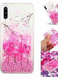 baratos -Capinha Para Samsung Galaxy Galaxy M20(2019) / Galaxy M30(2019) Liquido Flutuante / Transparente / Estampada Capa traseira Animal / Desenho Animado Macia TPU para Galaxy M10 (2019) / Galaxy M20(2019