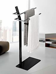 levne -Tyč na ručníky kreativita Moderní Nerez 1ks Dvojité Zabudovaná