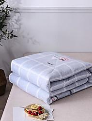 billige -Komfortabel - 1stk dyne Forår / Sommer Polyester Ternet / Simpel / Tegneserie