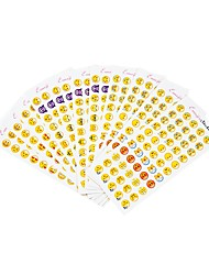 Недорогие -Стикер / Наклейка для фольги Бумага 12 pcs 1 pcs
