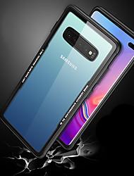 halpa -Etui Käyttötarkoitus Samsung Galaxy Galaxy S10 / Galaxy S10 Plus / Galaxy S10 E Iskunkestävä / Ultraohut / Läpinäkyvä Takakuori Läpinäkyvä Kova Karkaistu lasi varten Galaxy S10 / Galaxy S10 Plus