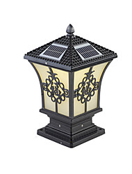 Недорогие -QINGMING® 1шт 3 W Свет газонные Водонепроницаемый / Работает от солнечной энергии / Управление освещением Теплый белый + белый 3.7 V Уличное освещение / двор / Сад 1 Светодиодные бусины