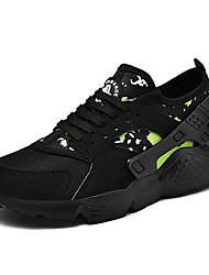 abordables -Homme Semelles légères Maille Eté Sportif / Simple Chaussures d'Athlétisme Course à Pied / Marche Respirable Noir / Rouge / Bleu