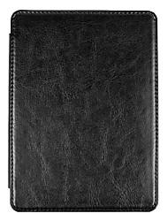 Недорогие -Кейс для Назначение Amazon Kindle PaperWhite 4 Защита от удара / Авто Режим сна / Пробуждение Чехол Однотонный Твердый Кожа PU