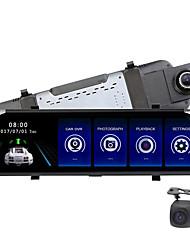 Недорогие -F800 1080p HD Автомобильный видеорегистратор 170° Широкий угол КМОП-структура 10 дюймовый IPS Капюшон с Ночное видение / Режим парковки / Циклическая запись Автомобильный рекордер