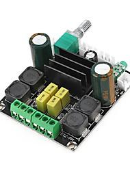 Недорогие -tpa3116d2 двухканальный 50wx2 стерео DC 12-24v плата цифрового усилителя