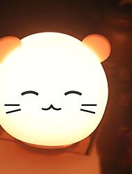 Недорогие -1шт Catus LED Night Light / Детский ночной свет / Детские и детские ночные огни USB Мультипликация / Стресс и тревога помощи / Меняет цвета 5 V