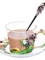 Недорогие -стекло Heatproof Новый дизайн нерегулярный 1шт Кофе и чай Чашка