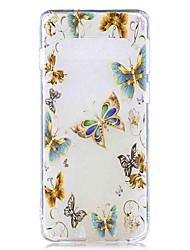 halpa -Etui Käyttötarkoitus Samsung Galaxy Galaxy S10 Plus / Galaxy S10 E Läpinäkyvä / Kuvio Takakuori Panda Pehmeä TPU varten S9 / S9 Plus / S8 Plus