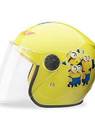 Недорогие -Каска Дети Универсальные Мотоциклистам Детский Безопасный случай / Ультралегкий (UL)