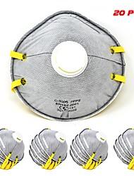 Недорогие -Пылесос с респиратором из твердых частиц 20шт. с дыхательным клапаном