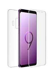 abordables -Protector de pantalla para Samsung Galaxy S9 Vidrio Templado 1 pieza Protector de Pantalla Posterior y Frontal Alta definición (HD) / Dureza 9H / A prueba de explosión