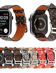 Недорогие -ремешок для часов для Apple Watch серии 4/3/2/1 яблоко классическая пряжка ремешок из натуральной кожи