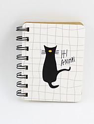Χαμηλού Κόστους -νεωτεριστικό βιβλίο χαρτιού σχεδίασης πηνίο βιβλίο / σημείωμα βιβλίο για γραφείο γραφείο χαρτικά