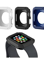 Недорогие -чехол для яблока чехол для часов 44мм 40мм тпу металлическая кнопка защитный чехол для iwatch серии 4 аксессуары протектор экрана