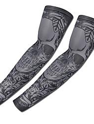 preiswerte -2 pcs Temporary Tattoos entspannte Passform / UV Schutz / Ergonomisches Design Brachium Lycra Ärmel Tätowierungen