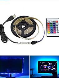 Недорогие -1 компл. Usb светодиодная лента 2835smd 8 мм dc5v гибкая светодиодная лента ленты 0.5 м HDTV ТВ экран рабочего стола фон смещения освещения