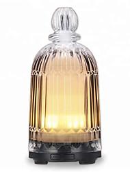 Недорогие -стеклянная ваза ароматерапия увлажнитель ультразвуковой немой лампа бытовой очистки воздуха диффузор эфирного масла