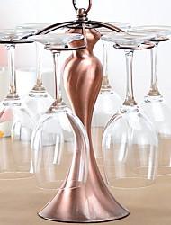 Недорогие -2pcs Медь Винные стеллажи Винные стеллажи Творческая кухня Гаджет Вино Аксессуары для Barware