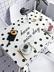 preiswerte -Moderne Freizeit Baumwolle Polyesterfaser Quadratisch Tischdecken Mit Mustern Urlaub Print Umweltfreundlich Wasserdicht Tischdekorationen