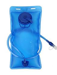 Недорогие -Бутылка для воды 2000 ml Эко PC Портативные Складной Ультралегкий (UL) для Пешеходный туризм Путешествия Бег 1 pcs Синий
