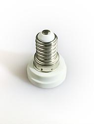 cheap -1pc E14 to E12 E14 100-240 V Converter Plastic Light Bulb Socket