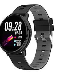 Недорогие -KK1 Smart Watch BT Поддержка фитнес-трекер уведомления и пульсометр полный круглый экран SmartWatch для мобильных телефонов Android и IOS