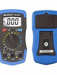 hesapli -Holdpeak hp-36t manuel aralığı dijital tester profesyonel multimetre dc ac gerilim direnci sıcaklık ölçmek enstrüman