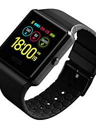 Недорогие -DS124 Мужчины Смарт Часы Android iOS Bluetooth Водонепроницаемый Сенсорный экран Пульсомер Измерение кровяного давления Спорт ЭКГ + PPG