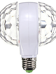 abordables -1pc led scène lumière double tête rotation coloré boule magique e27 ampoule bar décoration lampe