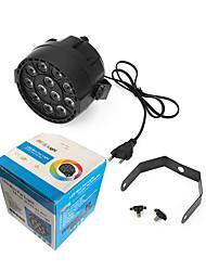 abordables -1 set 38 W 6000 lm 12 Perles LED Lampe LED de Soirée RGB + Blanc 85-265 V