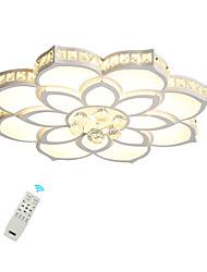 Недорогие -светодиодный потолочный светильник / современные скрытые светильники для гостиной спальни 110-120 В / 220-240 В / теплый белый / белый / с возможностью затемнения с пультом дистанционного управления