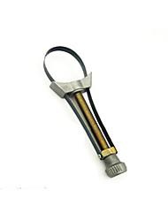 Недорогие -Регулируемый алюминиевый ремешок для инструмента для удаления масляного фильтра диаметром от 60 до 120 мм, алюминий