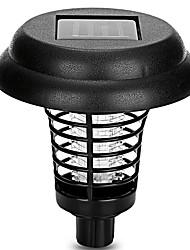 Недорогие -1шт на солнечной батарее светодиодные открытый двор сад газон свет водонепроницаемый анти комаров насекомых-вредителей ошибка молния убийца ловушки светодиодные лампы
