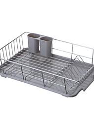 halpa -Korkealaatuinen kanssa Ruostumaton teräs astioita haltijat Päivittäiskäyttöön Keittiö varastointi 1 pcs