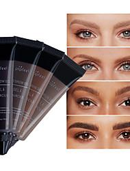 저렴한 -아이브로우 눈썹 색상 방수 일종의 튼튼한 나사 1 pcs 구성하다 눈 일상 화장품 젖은 방수 지속 시간 캐쥬얼 / 데일리 4 색 일상 화장품 미용 용품