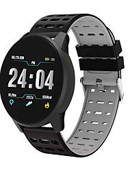 Недорогие -Муж. Спортивные часы Цифровой силиконовый Красный / Зеленый / Серый 30 m Защита от влаги Bluetooth Smart Цифровой На каждый день Мода - Черный / Красный Черный / Синий Черный / серый / Секундомер