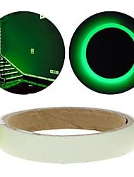 Недорогие -зеленая флуоресценция стикер ночи светящаяся лента полоса деколи украшение для лестничные двери автомобиля мотоцикла светящейся ленты