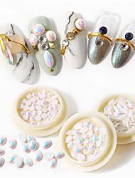billige -1 pcs Bedste kvalitet Imiteret Perle Perler Til Fingernegl Mode Kreativ Negle kunst Manicure Pedicure Daglig Stilfuld