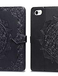 tanie -Kılıf Na Jabłko iPhone XR / iPhone XS Max Etui na karty / Flip Pełne etui Solidne kolory Twardość Skóra PU na iPhone XS / iPhone XR / iPhone XS Max