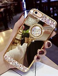 halpa -Etui Käyttötarkoitus Samsung Galaxy Galaxy S10 / Galaxy S10 E Paljetti / Tuella Takakuori Kimmeltävä Kova Akryyli varten S9 / S9 Plus / S8 Plus
