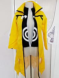 Недорогие -Naruto Uzumaki Косплэй Kостюмы Инвентарь Маскарад Муж. Косплей из фильмов Аниме Хэллоуин Желтый Пальто Кофты Брюки Хэллоуин Карнавал Маскарад Tactel