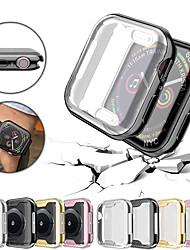 Недорогие -Защитная пленка для экрана Apple Watch 4/3/2/1 38мм 42мм 40мм 44мм мягкий тпу универсальный ультратонкий прозрачный чехол hd
