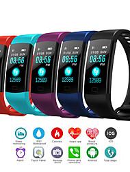 Недорогие -Муж. электронные часы Цифровой Pезина Черный / Синий / Красный 30 m Защита от влаги Bluetooth Smart Цифровой На открытом воздухе Мода - Черный Красный Синий Один год Срок службы батареи