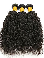 저렴한 -3 개 묶음 브라질리언 헤어 물결 미처리 인모 인간의 머리 직조 인모 연장 8-28 inch 자연 색상 인간의 머리 되죠 안전 뜨거운 판매 두꺼운 인간의 머리카락 확장 여성용