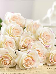 Недорогие -Искусственные Цветы 1 Филиал Классический Свадьба европейский Розы Вечные цветы Букеты на стол