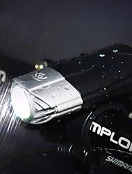 Недорогие -Светодиодная лампа Велосипедные фары Передняя фара для велосипеда Фары для велосипеда Фонарь Горные велосипеды Велоспорт Велоспорт Водонепроницаемый Супер яркий Безопасность Портативные USB