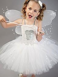 Χαμηλού Κόστους -Παιδικά Ρούχα Χορού / Στολές χορού Φορέματα Κοριτσίστικα Επίδοση Νάιλον Σχέδιο / Στάμπα / Διαφορετικά Υφάσματα Φόρεμα