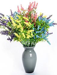 preiswerte -Künstliche Blumen 1 Ast Klassisch Europäisch Hochzeitsblumen Schleierkraut Ewige Blumen Tisch-Blumen